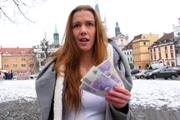 estudiante real follando por dinero
