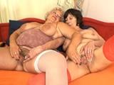 ancianas lesbianas follando juntas