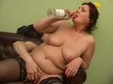 Gordita follando con unas copas de más